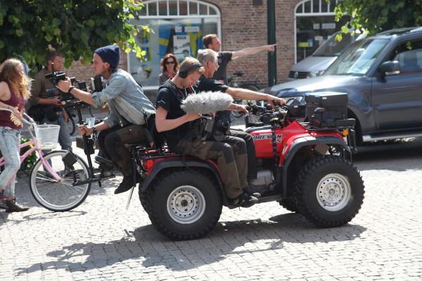 Filmning med fyrhjuling