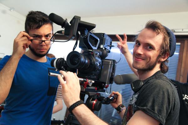 Fotograferna Nadim och Anton