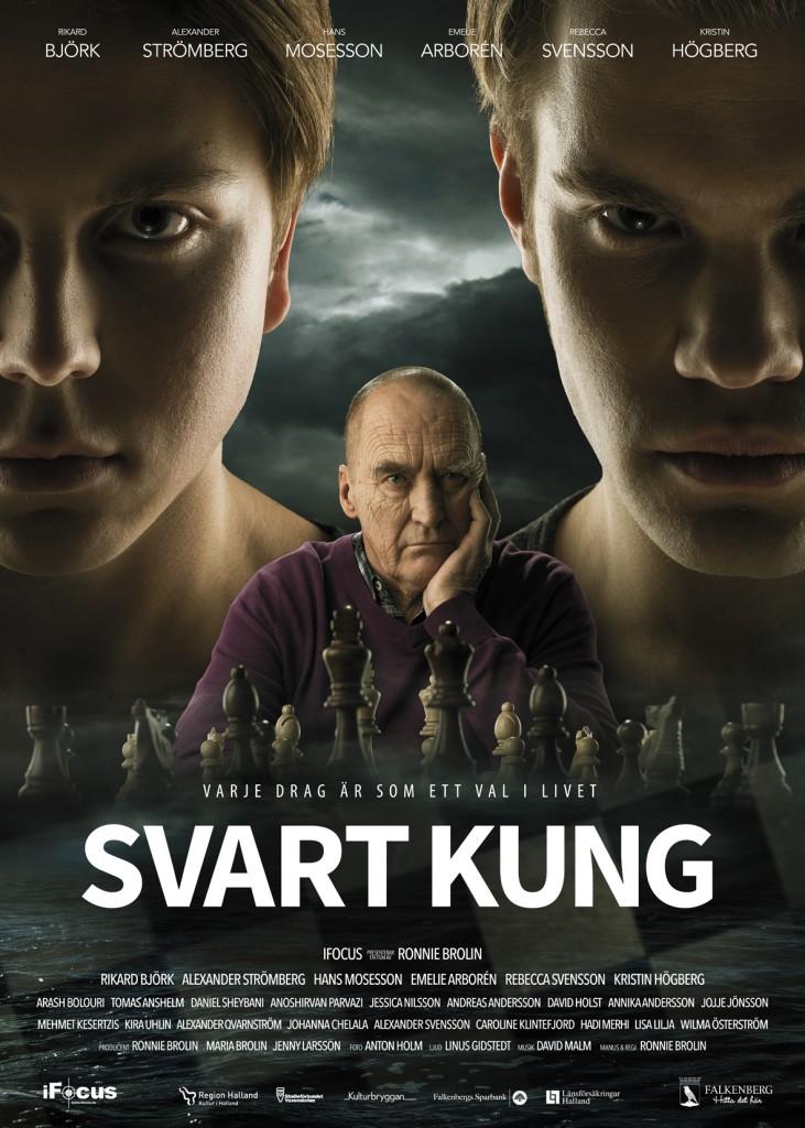 Svart kung - Affisch